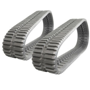 Pair Of Prowler Rubber Tracks For John Deere Ct322 At Tread 320x86x52 13