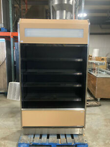 Barker 4 X 2 Open Air Refrigerated Multi Deck Grocery Display Case Cooler