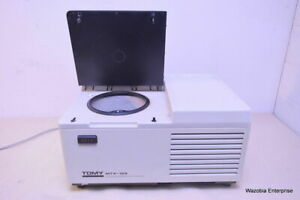 Tomy Mtx 152 High Speed Refrigerated Microcentrifuge