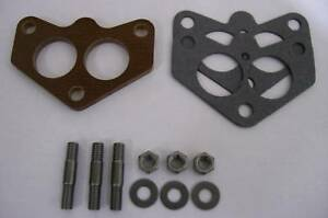 Fits Stromberg 97 Ford Holley 94 Intake Spacer Phenolic Carb Insulator Riser Kta