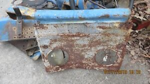 Ford 2000 3000 4000 Bottom Grille Screen 1965 68 English Grille