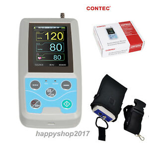 Ambulatory Blood Pressure Monitor Abpm50 24 Hours Diagnosis Free Pc Software Fda