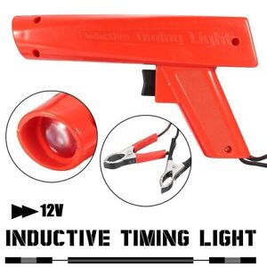 Car Xenon Ignition Strobe Engine Timing Light Lamp Automotive Pistol Grip Red