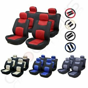 10 13 Pieces Polyester Padding Car Seat Covers W Headrest Covers For Chrysler