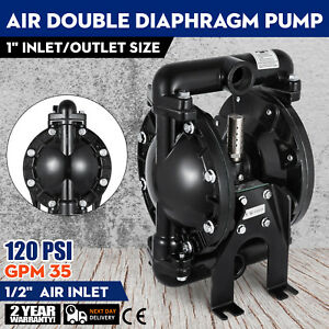 Air operated Double Diaphragm Pump 84 M 275 59 Ft 1inch Inlet 150 Newest