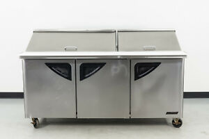 Used Turbo Air Tst 72sd 30 72 3 Door Refrigerated Sandwich Prep Table