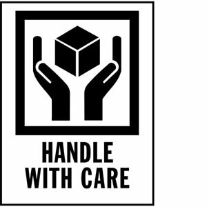 Amz International Safe Handling Labels 3 X 4 1 Roll Of 500 Handle With