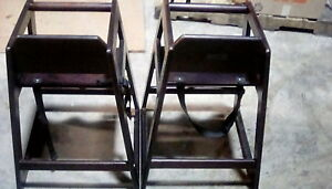 Restaurant High Chairs Lot Of 2