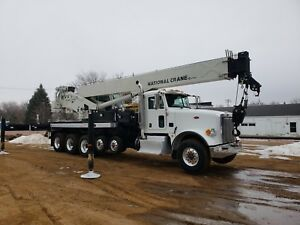 2014 National Nbt55 128 On Peterbilt 365 Crane
