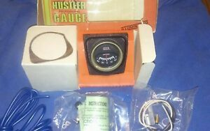 nos Vintage 1970 s Dixco Ammeter Gauge Kit New In The Box Tag Sw Tach Gauge