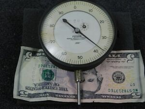 Large Federal Dial Indicator Model 8 207 Excellent Condition