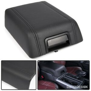 Oem For 04 08 Ford F 150 Black Leather Center Console Arm Rest 5l3z1506024aac