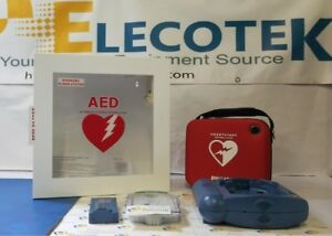Philips Heartstart Hs1 Aed With Alarmed Cabinet 5 Years Warranty