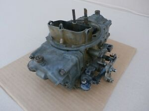 Holley 700 Cfm Double Pumper Mechanical 4778 4 Barrel Carburetor Sb Ford Mopar