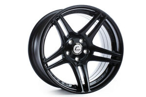 Cosmis Racing S5r 18x10 5 20 5x114 3 Black Evox Sti Wrx 350z G35 Accord Evo