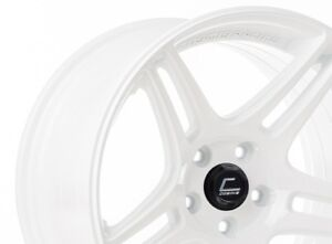 Cosmis Racing S5r 18x9 26 5x114 3 White set Of 4