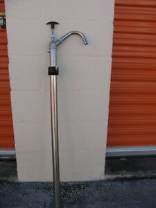 Manual Drum Pump Stainless Steel