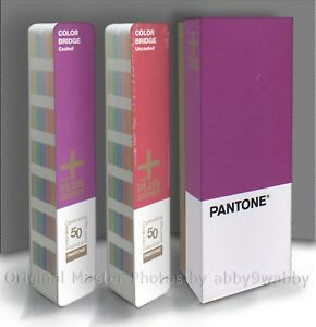 Pantone Color Bridge Coated Uncoated Set 50th Anniversary formula Guide sealed
