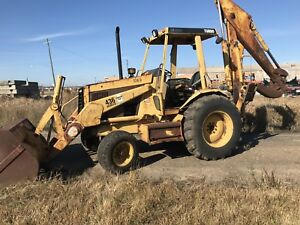 1990 Caterpillar 436 Series 2backhoe Wheel Loader Tractor Diesel Cat