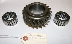 Oliver 1650 1655 Tractor Transmission Gear 107309a W pair Of 30 3046494 Bearings