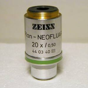 Zeiss Plan neofluar 20x Infinity corrected Microscope Objective Exc Cond