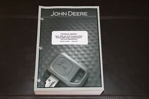 John Deere 3320 3520 3720 With Cab Compact Tractor Service Manual Tm2365