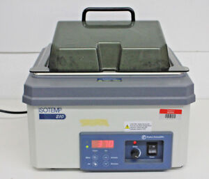 Fisher Scientific Isotemp Digital Control Water Bath 210 10l 120v 60hz