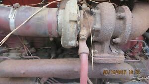 Ac Allis Chalmers 7000 Tractor Exhaust Manifold Turbo Pipes