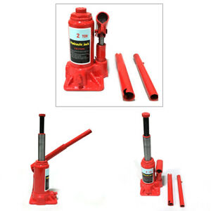 2 Ton Portable Hydraulic Bottle Jack Shop Garage Mechanic Repair Hand Tool