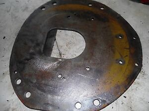Farmall 806 Gas Tractor Rear Engine Plate