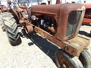 Allis Chalmers Wd Tractor Belt Pulley