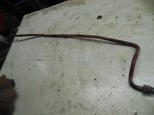 International 606 Tractor Miscellaneous Hydraulic Line 4