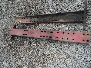 Farmall 806 Tractor Side Rails