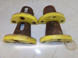 John Deere 60 Tractor Rear Hub Clamps