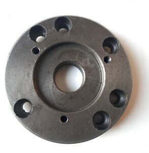 100mm Adapter Plate For The Mini lathe To Take 4 Chuck