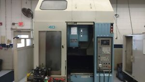 Used Okk Pcv 40 Cnc Vertical Machining Center Mill 10k Rpm 30 Tools Box Way 1997