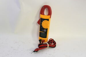 Fluke 321 Clamp Meter Dmm With Fluke Leads Set