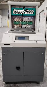 Cummins Allison Commercial Change Counter Sorter Self service Coin Star Kiosk