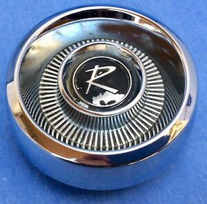1962 1963 Amc Rambler Vintage Auto Hot Rod Steering Wheel Horn Cap Or Button