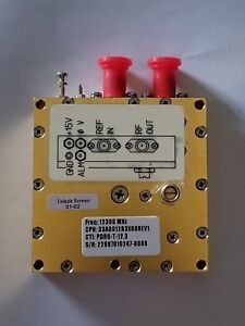 Phase Locked Dielectric Resonator Oscillator pdro 12 3 Mhz