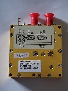Phase Locked Dielectric Resonator Oscillator pdro 13 4 Mhz