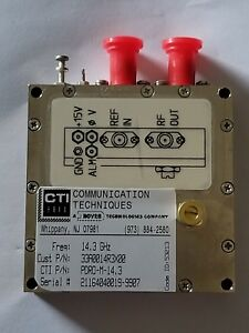 Phase Locked Dielectric Resonator Oscillator pdro 14 3 Ghz