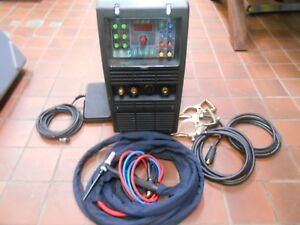 Powertig 315lx Gtaw p 315 Amp Tig Stick Advance Pulse Welder W A Lot Of Extras