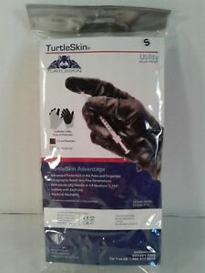 New Turtleskin Utility Gloves Cut Hypodermic Needle Protection Small
