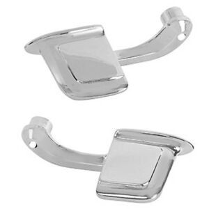 1959 1967 Impala Door Handle Inner Chrome Pair Right Left Side Dynacorn
