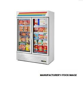 True Gdm 49f Glass Door Merchandiser Freezer 49 Cu Ft