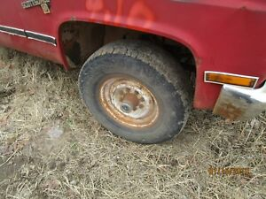 Front Axle 4wd 4 10 Axle Ratio 73 81 82 83 84 85 86 87 Chevy 20 Gmc Gm Corp