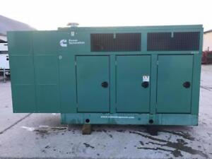 _125 Kw Cummins Onan Generator Set Sound Attenuated 12 Lead Reconnectable