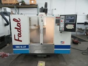 Fadal Vmc15 xt Extended Travel Vertical Machining Center With Fadal 88hs Cnc Con