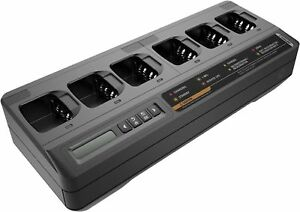 Motorola Pmpm4284a Impres 2 Multi Unit Charger With Display